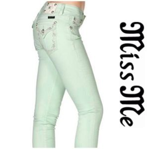 Miss Me Honeydew Jeans